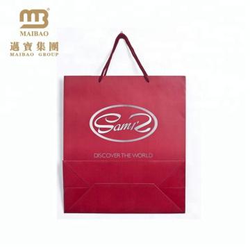 Дешевой Напечатанный Таможней Для Розничной Торговли Упаковка Евро Ручки Бумажный Мешок