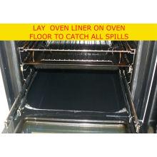 PTFE 유리 섬유 직물 비 스틱 및 재사용 가능한 오븐 매트 접촉 음식 직접 코팅
