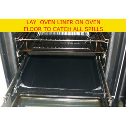 "OVEN GUARD Rack Splatter Shelf TV Products Cut To Size 13"" x 18"" Sheet Non-stick"
