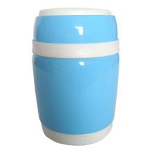 Garrafa térmica isolado recipientes de alimento com colher de aço inoxidável