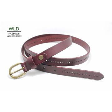 Fashion Perf Genuine Top en cuir Lady Belt Lky1187