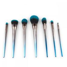 7-teiliges Kabuki-Make-up-Pinsel-Set mit Kristallgriff