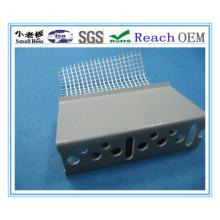 Material de 2013 PVC Consruction, perfil de PVC com malha