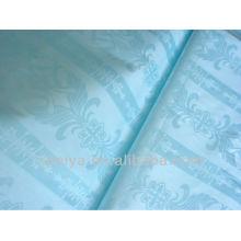 100% хлопок Гвинея парчи базен riche жаккард Африканская ткань светло-синий цвет блеск высокое качество feitex продвижения текстиль