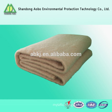 Non-woven needle-punched Camel hair wadding/ Camel hair felt well-known for its fine quality