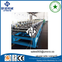 structural omega section rollform molding machine