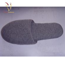 Femmes pantoufles en cachemire à la mode chaudes chaussures d'hiver