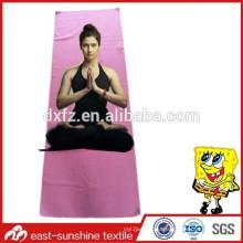 soft microfiber yoga towel,beautiful yoga towel,gym towel with logo