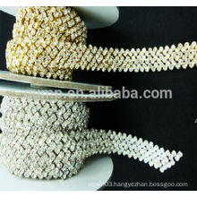clothes crystal decoration rhinestone cup chain trims
