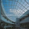 Structure de toit en acier pour la lucarne du bâtiment