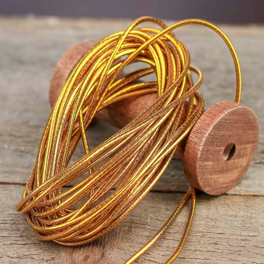 Wholesale Cheap Braided Gold Metallic Cord