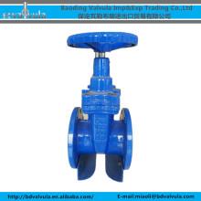 DN100 Válvula de compuerta de brida de hierro dúctil