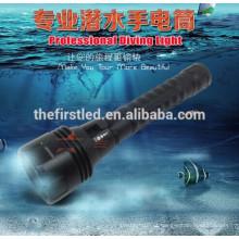 H3 O nível militar Cree XM-L2 800lm mergulho levou lanterna
