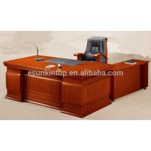 Mesa de escritório com mesa lateral mesa de escritório de escritório de boa qualidade com gavetas