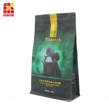 OEM Flat bottom pouch bag for 1.5KG dog food