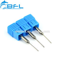BFL Tungsten Carbide Tools 2 Flute Long Neck Short Flute End Mill For Dental