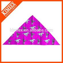 Mode billig einzigartig gedruckt Marke Dreieck Haustier Bandana