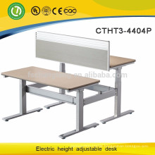 Electric height adjustable stand up desk/table leg/metal desk frame