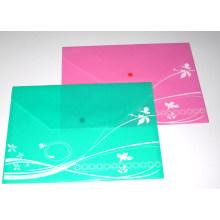 Fc Size Colored PP File Bag (NO. PPB-018)