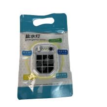 Lampe de poche d'urgence environnementale avec du carburant en aluminium