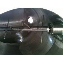 Mezclador de agitación forzado de la serie VI de 2017, mezclador de aroma de SS, mezclador de pasta horizontal