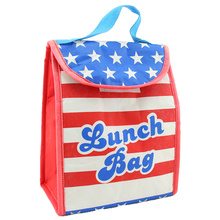 American Flag National Day Fresh Food Lunch Bag