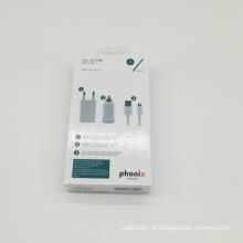Caixa de presente de embalagem de telefone de papel Luxuary