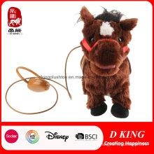 Andando e cantando Donkey Plush Toys Burro Elétrico