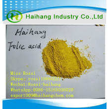 Folic acid food grade 97.0%min as food additive