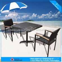 А - кафе набор PS-деревянная Таблица чая seater установленная 646+8604