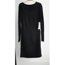 Señoras Viscose Longline cuello redondo jersey suéter de punto