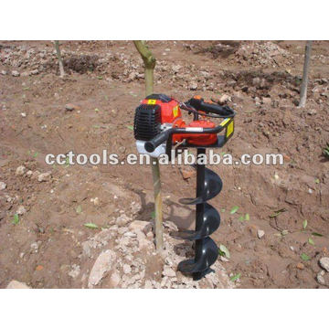 CE 49cc earth auger CCD-490C1 200mm DRILL