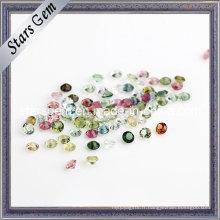 Petites pierres naturelles de tourmaline de taille pour des bijoux