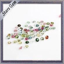 Pedras de turmalina natural tamanho pequeno para jóias