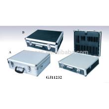 starke & tragbaren Aluminium Werkzeugkoffer mit abnehmbaren gewürfelte Schaumstoff