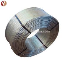 Pure titanium platinum coated nickel wire for eyeglasses frame