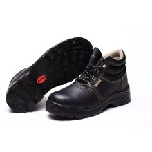 Industrial Working Strong and Professional PU/Leather Outsole Safety Shoes