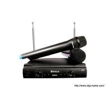 Alta Qualidade Dual Canais UHF Microfone Sem Fio S2000