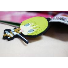 2016 Die Silikon Schlüsselanhänger Schlüsselanhänger Heißer Verkauf Schlüsselanhänger