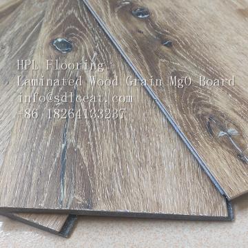 wood grain fiber cement decking floor board for outdoor floor