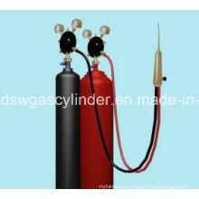 CO2-Zylinder für Hiqh-Druck