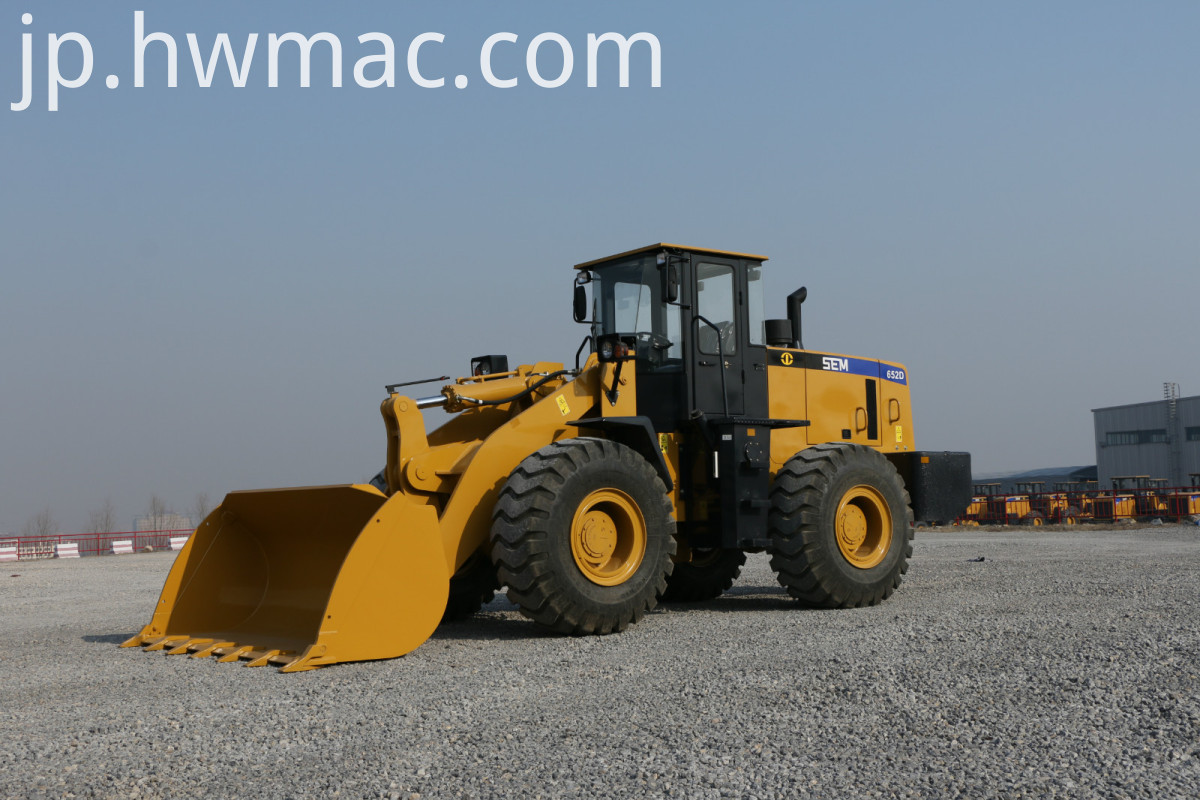 Earth-moving Machinery wheel loader