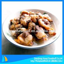 Notre produit de fruits de mer le plus vendu, la viande de palourdes congelées