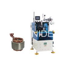 Automática de dos lados servo controlado Stator bobina Lacing Machine