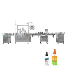 Mini injection 10ml vial filling capping machine