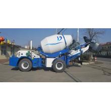 Camión mezclador de concreto usado mini portátil con bomba