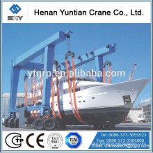 China Hottest House Boat Lifting Crane 10 Ton Manufacturer