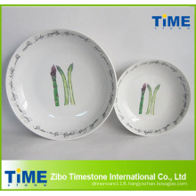 New Design Individual Porcelain Pasta Bowl Set