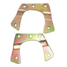 Suporte de pinça de freio de metal folheado a zinco personalizado