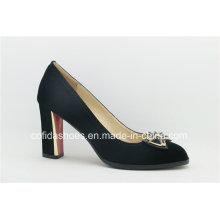 Classic Simple Europe High Heels Ladies Shoes
